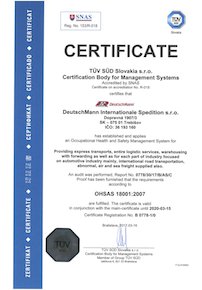 ISO Certificate 18001 TV GB resize