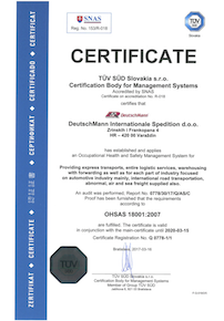 ISO Certificate 18001 VR GB resize